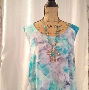 Romans Dress sz 24 W